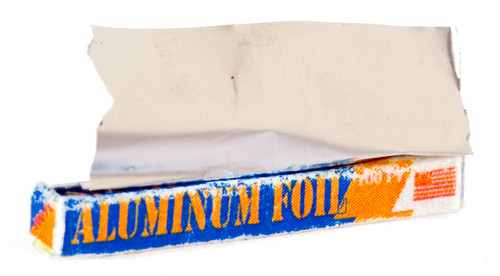 Aluminum Foil Box with Foil