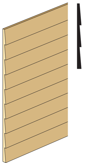 Dollhouse City - Dollhouse Miniatures Clapboard Siding