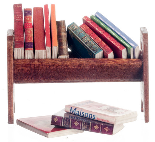 Book Rack with Books