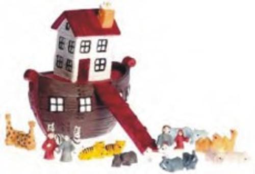 Ark With Animals Set