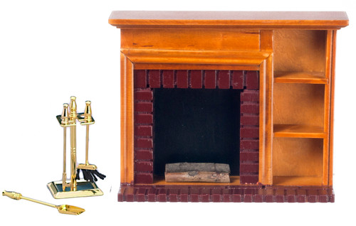 Fireplace and Accessories Set