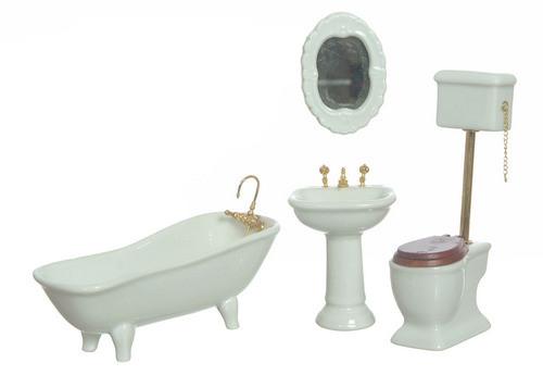 Bath Set - White