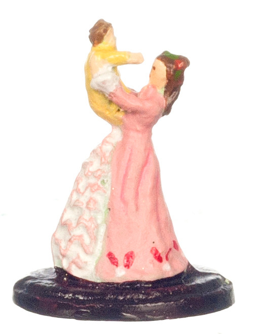 Dollhouse City - Dollhouse Miniatures Mother and Child