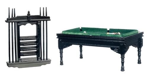 Pool Table Set - Black