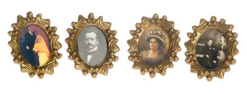 Decorator Picture Frames - Oval and Assorted