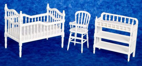 Baby Room Set - White
