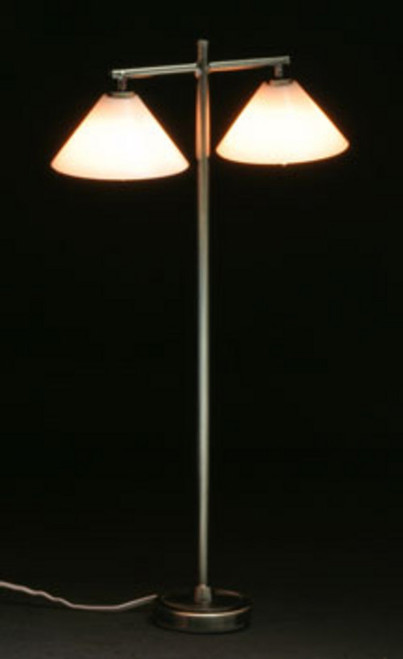 Modern Floor Lamp and 2 Down Shade