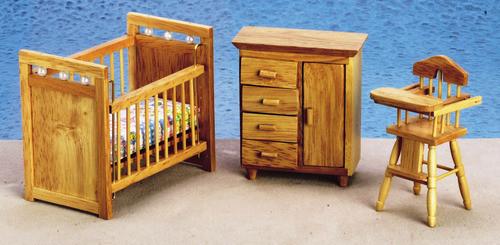 Nursery Set - Oak