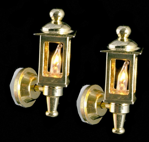 Brass Coach Lamps