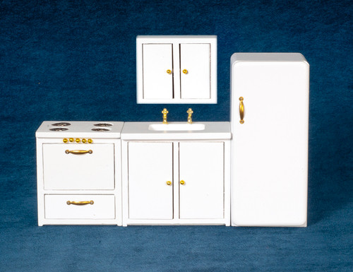 Modern Kitchen Set - White