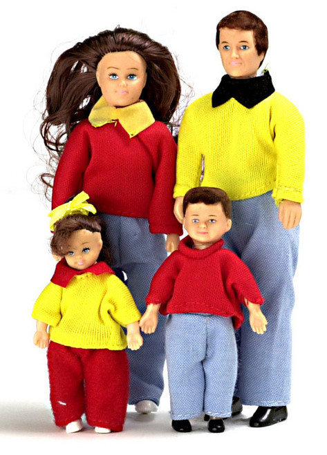 Casual Doll Family - Brunette