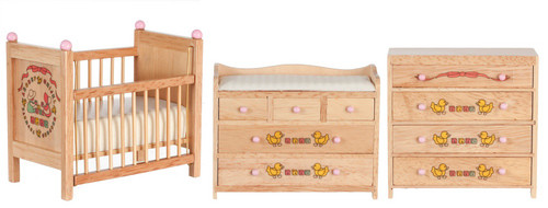 Baby Room Set - Oak ABC