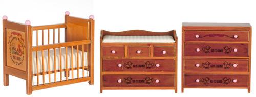 Baby Room Set - Walnut