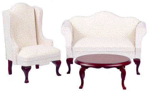 Small Queen Anne Living Room Set