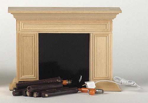 Williamsburg Fireplace Twelve V