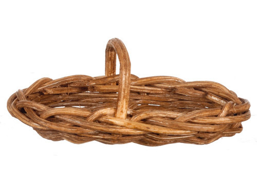 Long Oval Basket - Brown