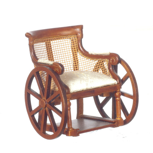 Victorian Wheelchair - Walnut