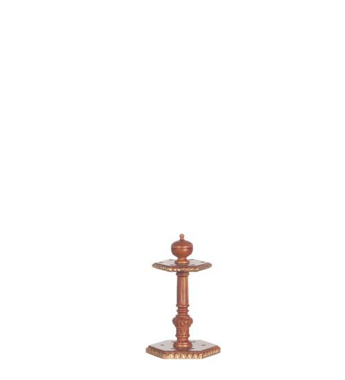 Figurehead Cue Stand with Handpainted - Walnut