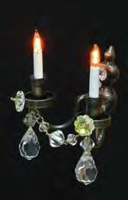Double Candle Wall Sconce