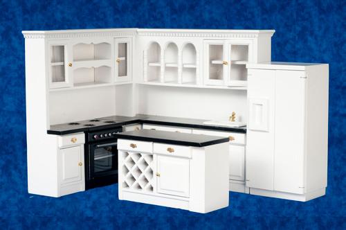 Kitchen Set - Black and White