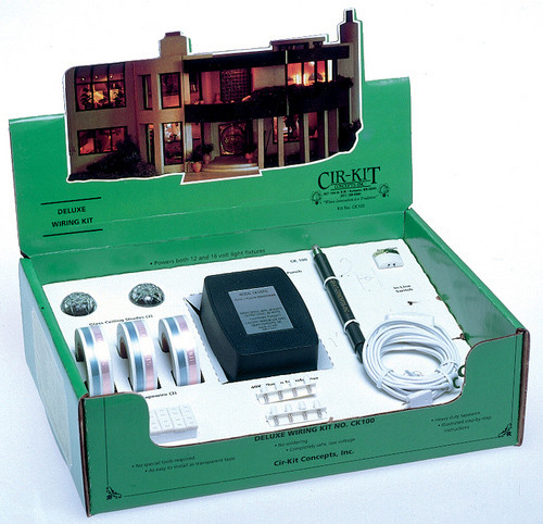 Dollhouse City - Dollhouse Miniatures Deluxe Wiring Kit