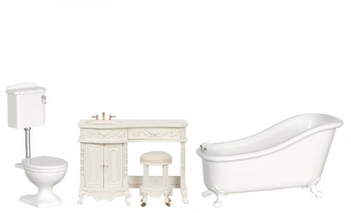 Avalon Bath Set - White