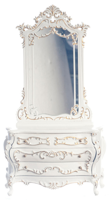 Bourdon Dressing Table with Mirror