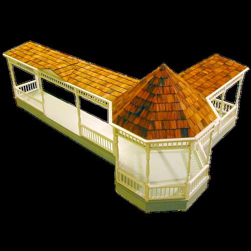 Dollhouse Gazebo Wraparound Kit