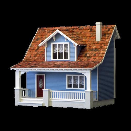 Beachside Bungalow Dollhouse Kit