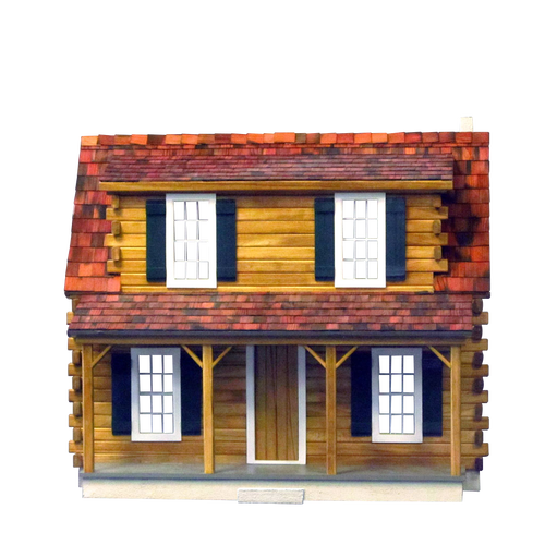 Adirondack Log Cabin Dollhouse Kit