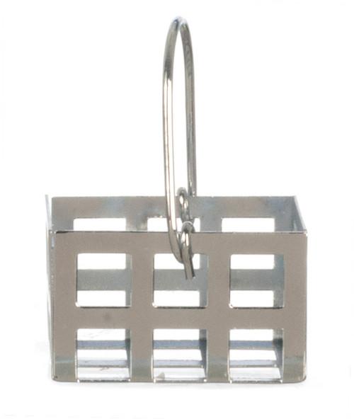 Empty Tin Basket