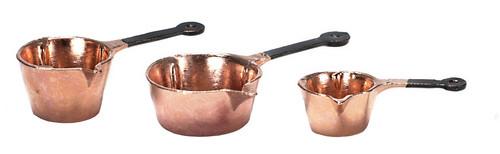 Pots Set with Spouts Set - Copper