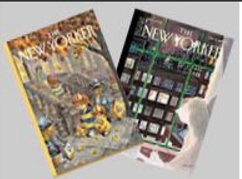 Vintage New Yorker Magazines Set