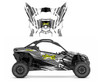 Can am Maverick X3 graphics wrap kit