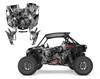 Zombie Skull utv wrap kit for your RZR Turbo S