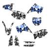 Boneyard skulls graphics for Kawasaki KX125 dirt bikes