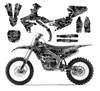 Black Digital Camo graphics sticker kit for  2020 YZ250F