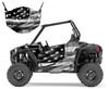 RZR-900 2015-18 Tattered American Flag