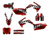 Honda CRF450r graphics wrap kit for 2009-2012