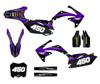 Purple Honda CRF450r custom graphics kit