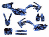Blue Zombie graphics kit for Honda CRF450r