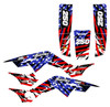 American flag wrap graphics kit for TRX250R