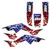 American flag wrap graphics kit for TRX250R