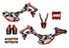 2016 Honda CRF450r dirt bike graphics sticker kit