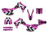 pink Honda CRF450r graphics sticker kit