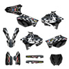 2002-2014 YZ125 and YZ 250 custom graphics decal kit