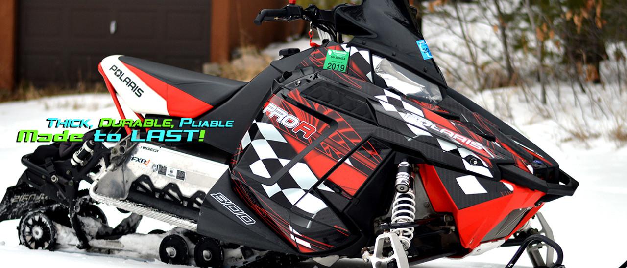 All Motor Graphics Pro Rush wrap kit