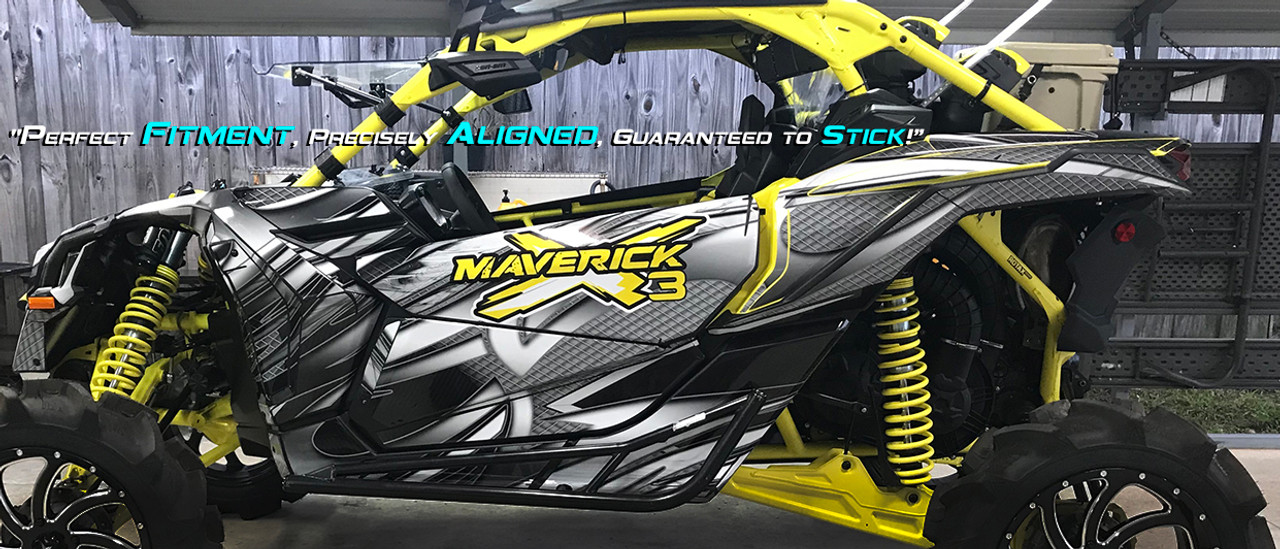 Can am X3 designed by Allmotorgraphics