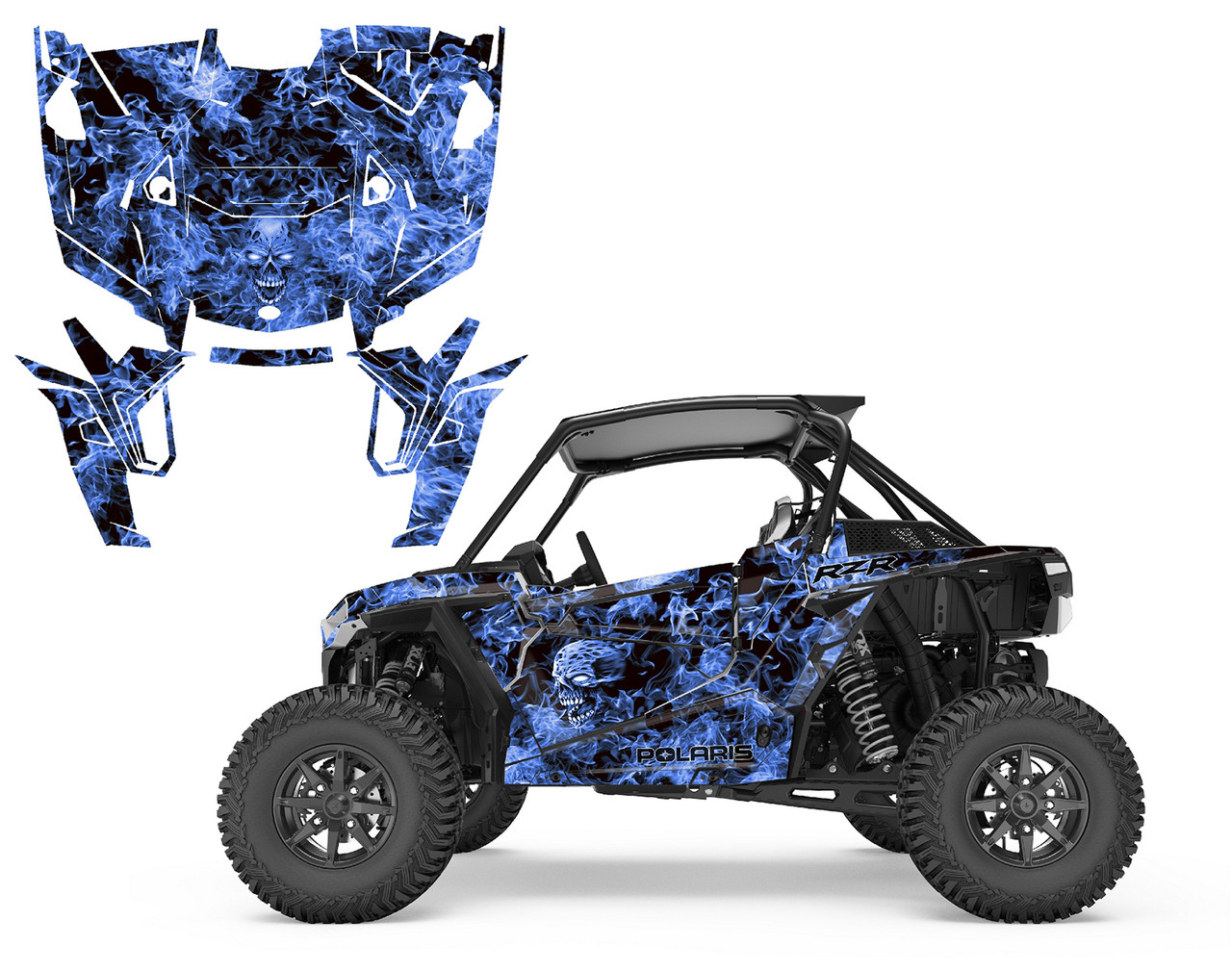 2019 RZR-1000 Turbo S XP Design 9500 Zombie