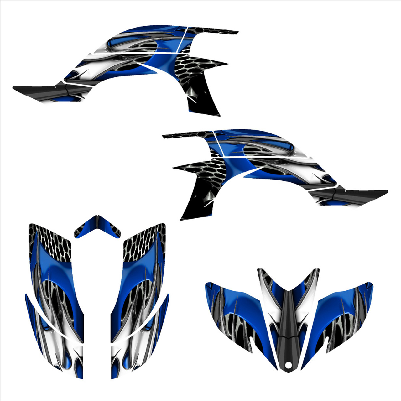 yfz450 graphics kit by All Motor Graphics